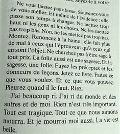 Jean d'Ormesson - La vie est belle