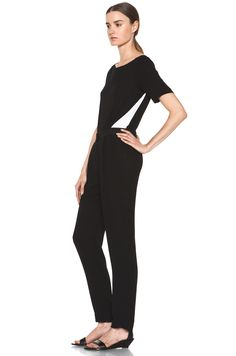 A.L.C.  Harlan Jumpsuit in Black