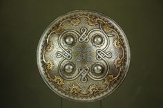 Fine 19th c. Indian Dhal Shield