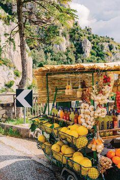 Amalfi Coast Drive XV Art Print by Bethany Young Photography - X-Small Fruit Photography, Travel Photography, Street Photography, Europe Destinations, Travel Europe, European Travel, Bethany Young, Amalfi Coast Wedding, Fruit Plants