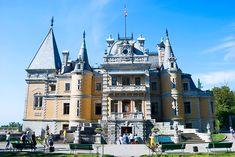 Palácio Massandra, na Crimeia