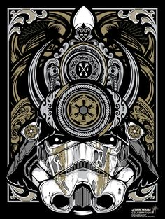 Star Wars Celebration by Joshua M. Smith, via Behance