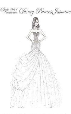Sneak Peek: 2016 Disney Fairy Tale Weddings by Alfred Angelo Wedding Dress Collection | Ever After Blog | Disney Fairy Tale Weddings and Honeymoon