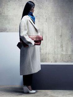 Minimalist Architectural Attire : Vogue China 'New Minimalism' Editorial
