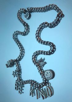 the be kind chain – discotonic Best Motto, Stainless Steel Chain, Sterling Silver Chains, Necklaces, Collar Necklace, Wedding Necklaces