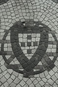 Portugal, Iberian Peninsula, Pavement, Portuguese, Stained Glass, Beautiful Pictures, Sidewalk, Black And White, History