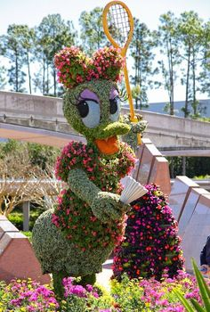 2013 Epcot Flower and Garden Festival - Daisy topiary