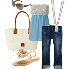 baby blue spring - Polyvore