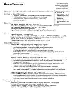 Financial Analyst Resume Sample Creative Resume Design Templates