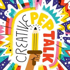 Creative Pep Talk exists to help you reach your creative destiny!  Andy J. Pizza is here to help you find your creative gift, develop it and connect it to the audience that needs it most.  Creative Pe