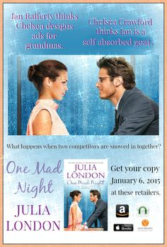 My latest contemporary novella, ONE MAD NIGHT is available TODAY!  Kindle: http://amzn.to/1xxAOD5 Nook: http://bit.ly/1xMzA8L iBooks: http://bit.ly/1BDHPkU