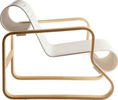 The Chair 41 is one of Aalto's designs. Alvar Aalto (1898-1976), one of the founders of Artek, was born in Kuortane, Finland. Alvar Aalto is recognized today as one of the great masters of modern arch