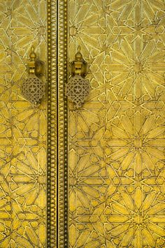 chasingrainbowsforever:  Golden Doors
