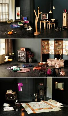 Never mind oversees customers, even for Koreans, fitting traditional items of classical atmosphere within a modern interior design isn't something you try everyday, especially when simple and modern interior is the majority trend. Traditional Interior, Traditional House, Korean Traditional, Modern Interior Design, Interior And Exterior, Asian House, Oriental Furniture, Living Furniture, Asian Design
