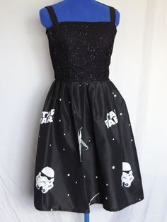 Bespoke STAR WARS dress Geek Chic by Mizap on Etsy, £30.00