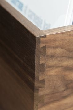 English dovetail joinery give our Dovetail Record Crates beauty and strength to last for generations.