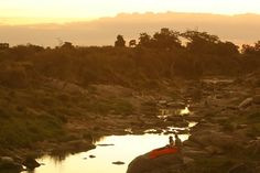 Rekero Camp Sunset
