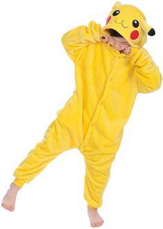 Ensemble pyjama pour enfants bébé, une chouette combinaison pour l'hiver en forme d'animal, de cosmonautes pour votre nouveau-né;transformez votre bébé en un petit animal tout doux le temps d'une nuit grâce à ce pyjama. En plus d'être mignon à croquer, votre enfant se sentira enveloppé dans son pyjama en coton.L'achat idéal pour les futurs ou nouveau papa et maman.Ce pyjama rendra votre enfant tellement mignon. Adult Costumes, Costumes For Women, Cosplay Costumes, Halloween Costumes, Pikachu, Pokemon, Adult Pajamas, California Costumes, Native American Beauty