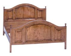 Country English Panel Bed