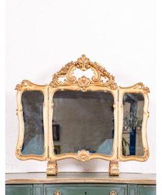 Espejo Tocador Antiguo Mirror, Frame, Furniture, Home Decor, Home, Antique Vanity, Timber Vanity, Mirrored Dresser, Modern Mirrors