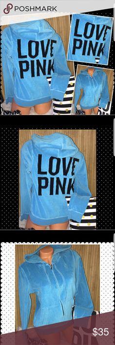 Velvety bright royal blue victoria secret hoodie Very comfortable Victoria secret pink hoodie. victoria secret Jackets & Coats