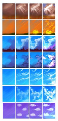 Clouds tutorial by ryky.deviantart.com on @deviantART