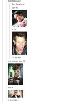 hahaha… brilliant #Eleven #Doctor #Who