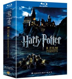 Harry Potter - Complete movie Collection Blueray