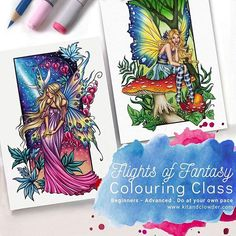 I have exciting news to share. New copies and pencil coloring classes featuring my digital stamps are now available over at Kit and Clowder. Please check www.kitandclowder.com for more details.  #adultcoloringbook #adultcoloring #coloringpages #coloringbook #kitandclowder #kitandclowderclasses #jannafairyart #jannaprosvirina #fairycoloring #coloringaddict #coloringforadults #coloring #coloringoninstagram Fairy Coloring, Adult Coloring, Coloring Books, Coloring Pages, Exciting News, Digital Stamps, Fantasy, Pencil, Illustrations