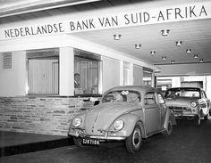 Before it became Nedbank, drive through teller at Nederlandse Bank Van Said Africa.