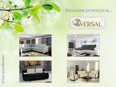 Wiosenna promocja w Wersal - narożniki, wersalki, zestawy tapicerowane.  http://sagameble-sklep.pl/444-promocja-wersal-wiosna-2014