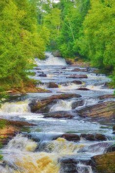 Elizabeth Cherneski. Moxie Stream. The Forks, Maine.
