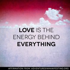 #energy is everything!