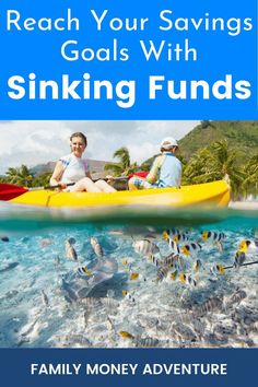 How Sinking Funds Can Help You Reach Your Savings Goals Online Savings Account, Sinking Funds, Debt Snowball, Envelope System, Save Money On Groceries, Get Out Of Debt, Early Retirement, Money Management, Money Tips