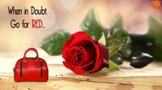 #LavIN presents this Adorable Red Love Theme #Bag... Just for Your Special One!!  Shop Here.  ***Use Promocode FSH30 to Get Flat 30% Cashback* on #Paytm