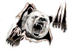 Bear design by ~ReedmooleyTattoos on deviantART
