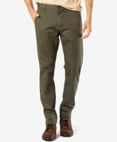 Dockers NEW Gray Mens Size 30x30 Slim Tapered Alpha Khakis Pants ...