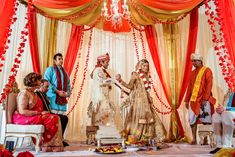 A Princess for a Make-Believe Prince - NYTimes.com  Sabyasachi bride!!!