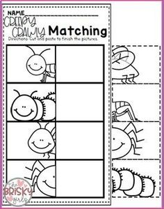 Beginning of the Year Pre-K (Preschool) (Back to School PreK Activities) - Today Pin Insect Activities, Pre K Activities, Preschool Learning Activities, Letter Activities, Free Preschool, Preschool Printables, Preschool Lessons, Toddler Learning, Shape Activities