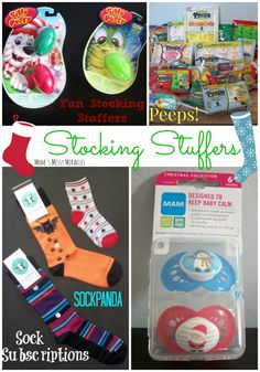 These are some great finds for stocking stuffers! A little bit of something for everyone!