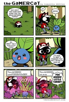 the GaMERCaT :: Hit and Run | Tapastic Comics - image 1  YOU HORRID LITTLE TURNIP I'm using that from now on