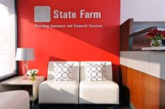 State Farm Insurance and Financial Service Office Project by Keita Turner, via Behance