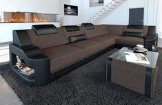 Corner Sofa Design, Sofa Bed Design, Corner Sofa Set, Living Room Sofa Design, Living Room Designs, Living Room Decor, Home Decor Furniture, Furniture Design, Latest Sofa Designs