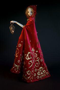 Enchanted Little Red Riding Hood, by Marina Bychkova / enchanted doll.