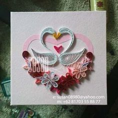 117 Best Quilling Valentine Images On Pinterest Quilling Hearts