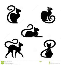 Black Cat Stock Image - Image: 31331111