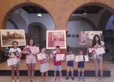 La Asociación Arteaga Alfaro expone en la Alhóndiga las obras del alumnado del Taller de Pintura