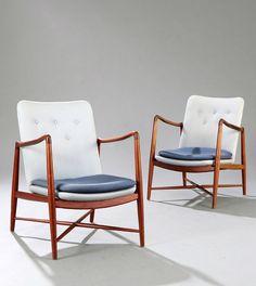 """Finn Juhl: """"Fireplace Chair"""""""