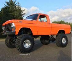 custom trucks and equipment Old Pickup Trucks, Lifted Ford Trucks, 4x4 Trucks, Diesel Trucks, Custom Trucks, Cool Trucks, Chevy Trucks, Pickup Camper, F150 Truck