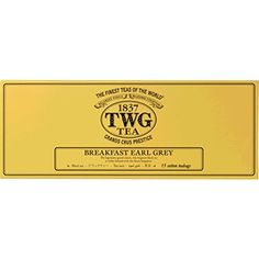 TWG Tea - Breakfast Earl Grey (PACKTB3000) - 15 x 2.5gr Tea bags -- Continue to the product at the image link.